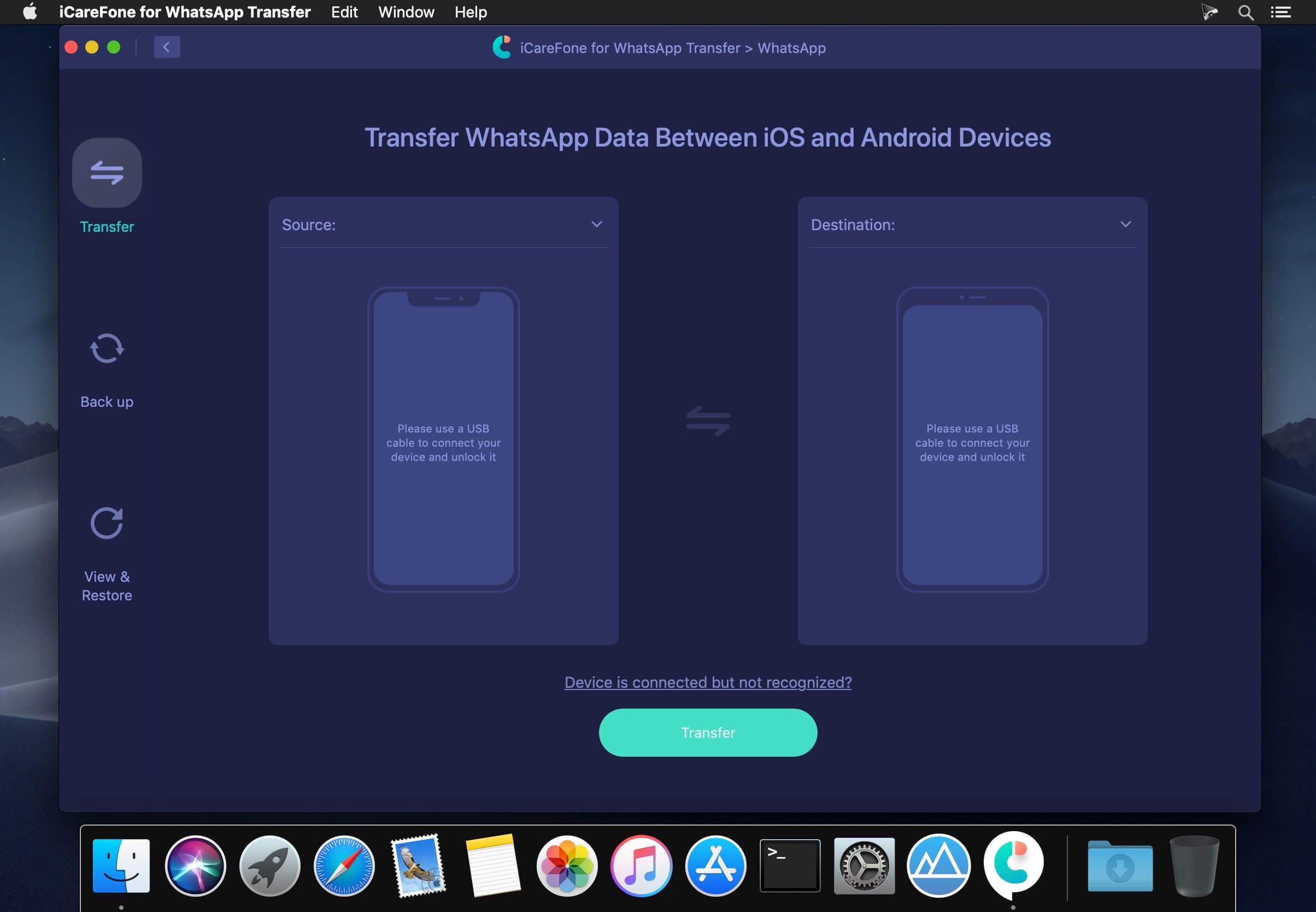 Tenorshare-iCareFone-WhatsApp-Transfer-2.2.0.1