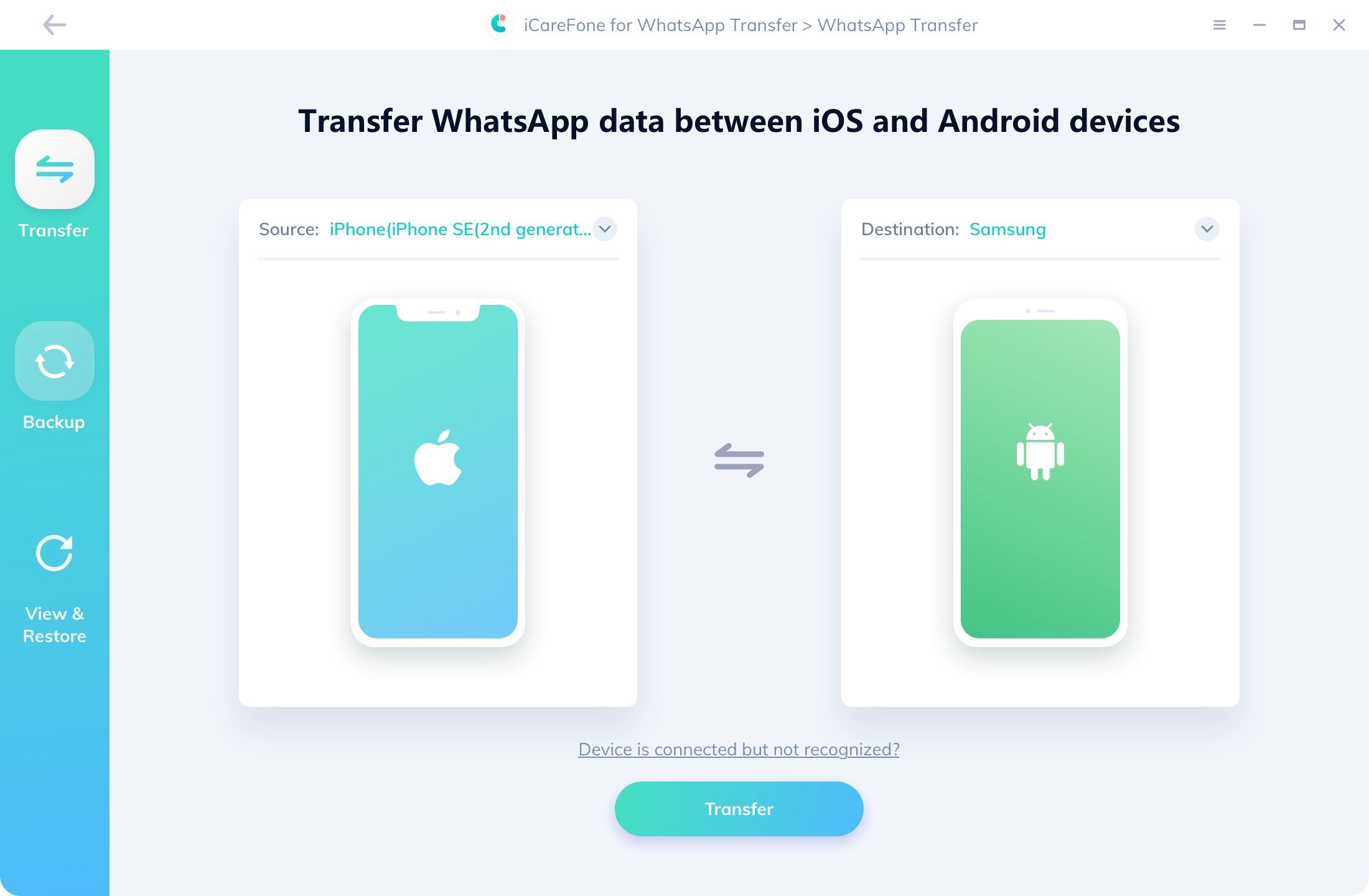 Tenorshare-iCareFone-WhatsApp-Transfer-Crack
