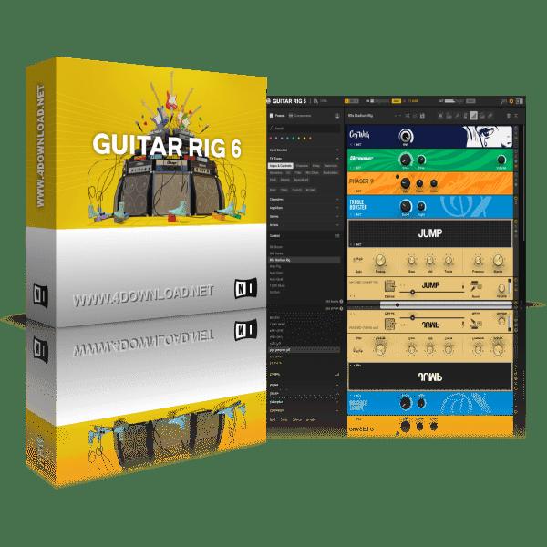 Native Instruments Guitar Rig 6 Pro Full version