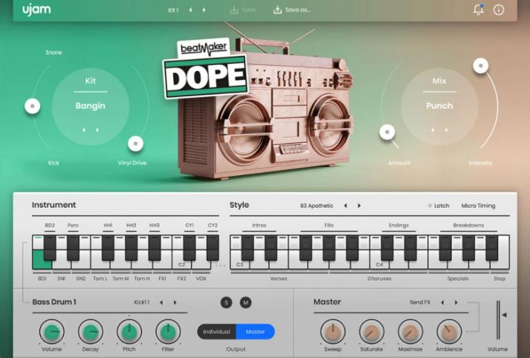 UJAM-Beatmaker-DOPE-2-for-Mac-Free-Download-