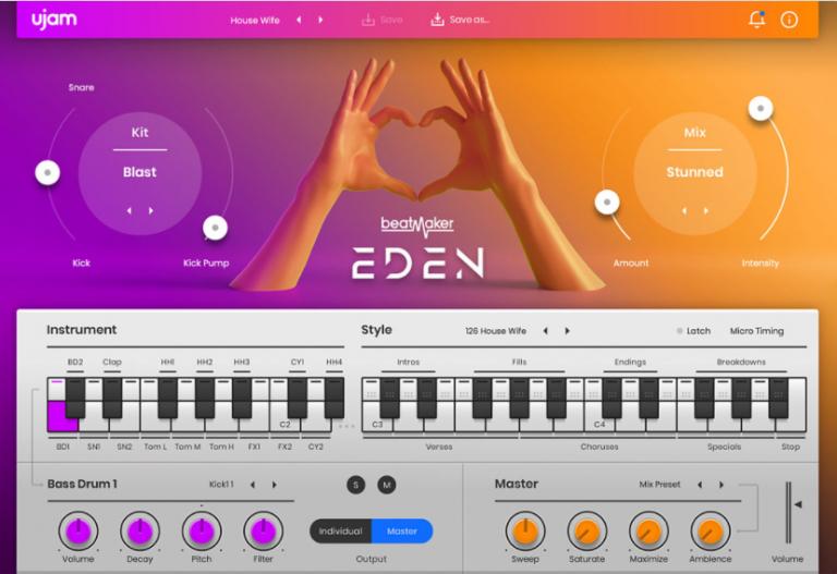 UJAM-Beatmaker-EDEN-2-for-Mac-Free-Download-Downloadies