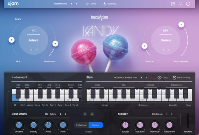 UJAM-Beatmaker-KANDY-2-for-Mac-Free-Download