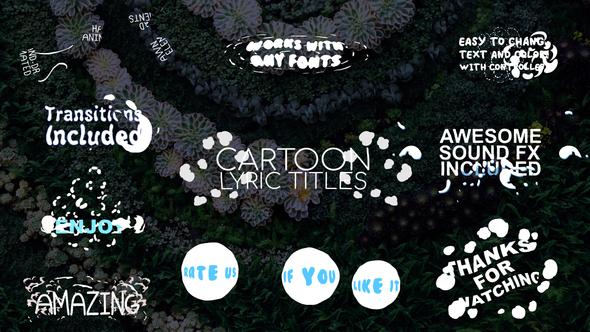 2D-Cartoon-Lyric-Titles-FCPX-Free-Download