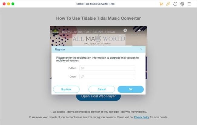 Tidabie-Tidal-Music-Converter-For-Mac-Free-Download