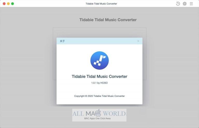 Tidabie-Tidal-Music-Converter-For-macOS-Free-Download