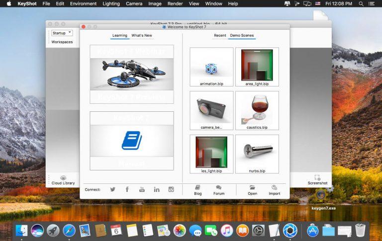 Luxion-KeyShot-Pro-10-for-Mac-Free-Download