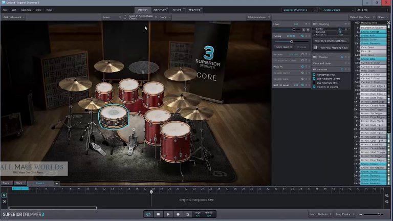 Toontrack-Superior-Drummer-v3.1.7-for-Mac-Free-Download