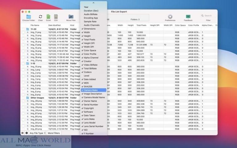 File-List-Export-2-Mac-Free-Download
